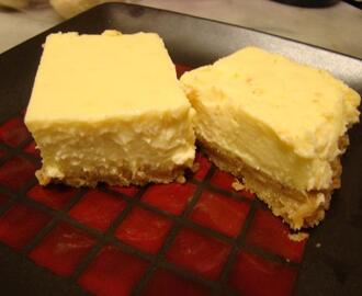 Limoncello Liqueur Plus Cheesecake Squares