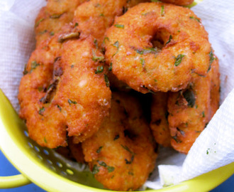 Avil Vadai/ Beaten Rice Vadai/ Poha Vada In 10 Minutes