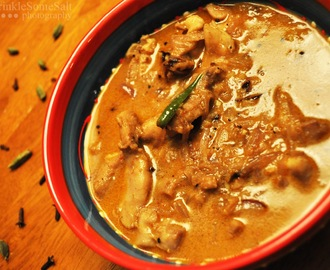 Kerala Chicken curry with coconut milk