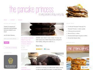 The Pancake Princess and the Protein Prince | Craving pancakes all day, every day.