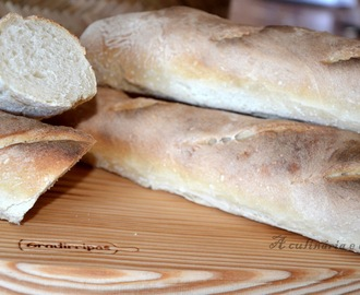 Baguettes [Bimby// Thermomix] [passo a passo]