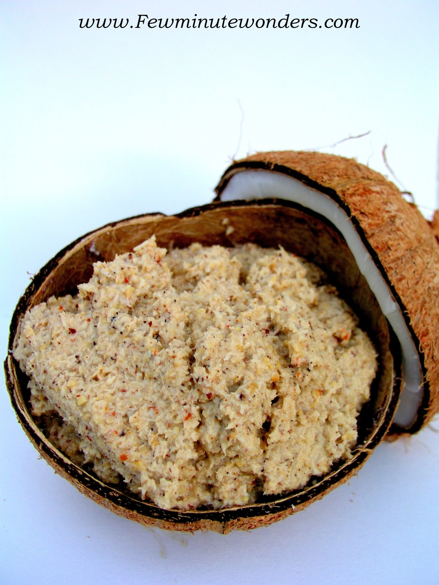 Thenga Thogayal/Coconut Coarse Chutney