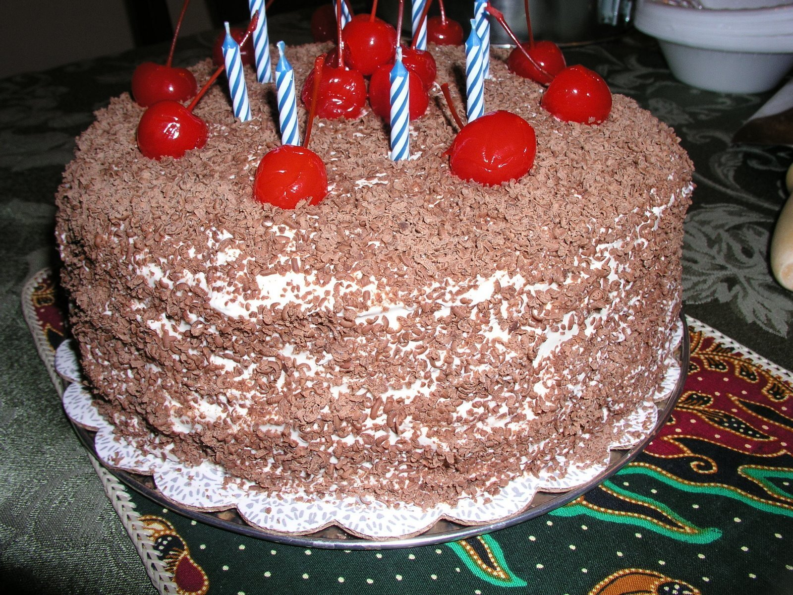 Black Forest Cake From a Box (India Style)