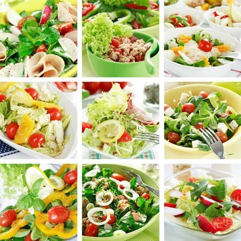 Saladas criativas e supersaborosas