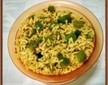 Nutty Capsicum Rice