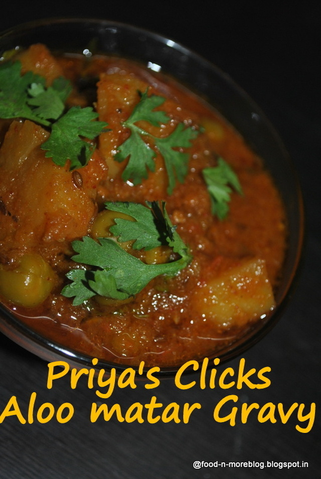 Recipe: Restaurant style Aloo Matar Masala gravy | how to make Alu matar curry