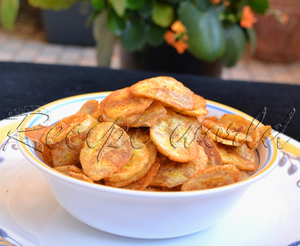 Plantain Chips | Raw Banana Chips | Balekayi Chips