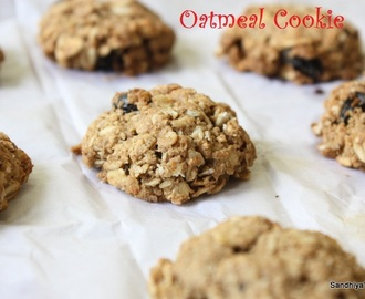Oatmeal Cookie | Oats Cookie without egg