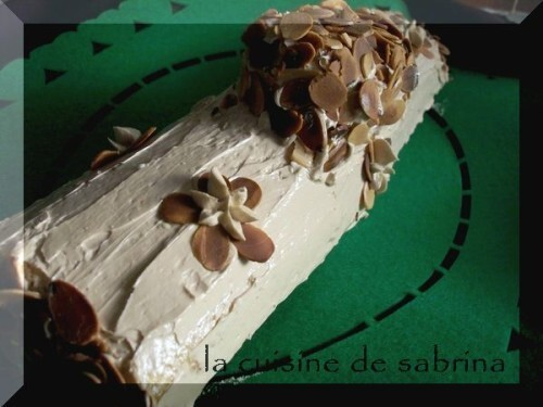 Buche traditionnel « parfum moka »