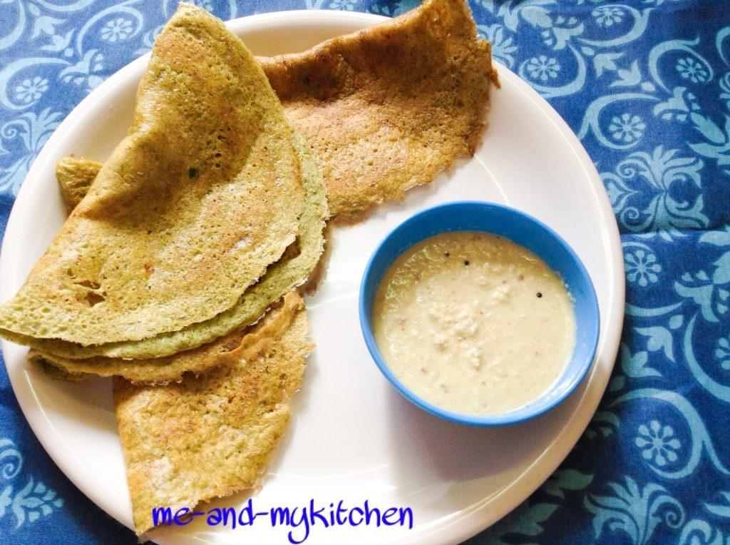 Andhra Pesarattu Dosa recipe/ Green moong dal dosa/ How to make Pesarattu dosa / Green gram crepe / Green whole gram dosa