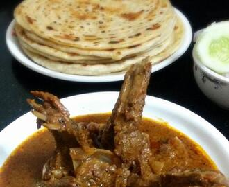 Mutton Chap (Slow cooked  mutton ribs)(Bengali Style )