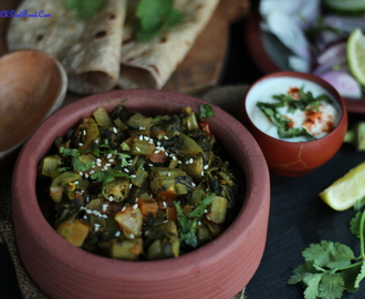 Bhindi/Okra/Ladies finger and Methi/Fenugreek masala
