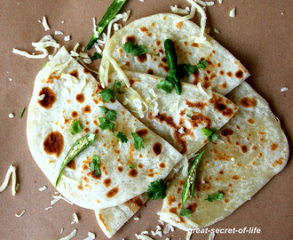 Cheese naan recipe - Cheese naan without yeast recipe - Kids friendly recipe