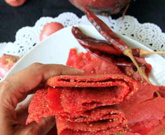 Beetroot Dosa - Beet Dosa - No ferment dosa - Vegetable dosa - Healhty breakfast, Dinner dosa