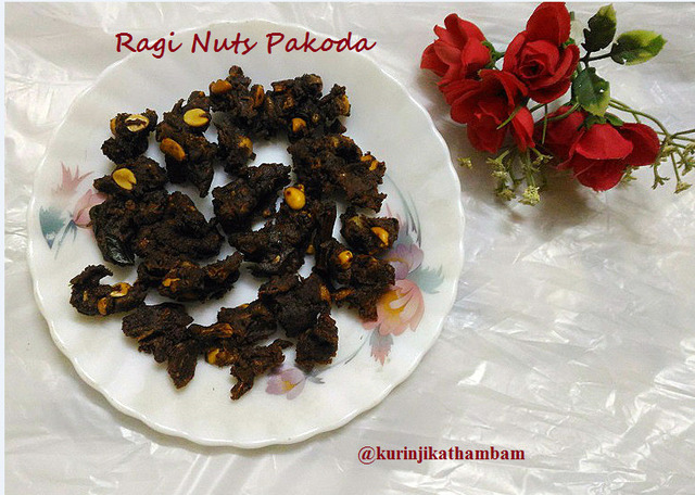 Ragi Nuts Pakoda – A recipe created with ASUS Zenfone 2 Laser Mobile Phone