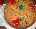 Christmas cake(dry fruits soaked in rum)