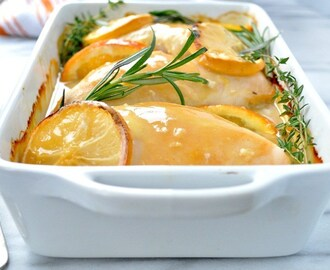 """No Work"" Citrus and Herb Baked Chicken"