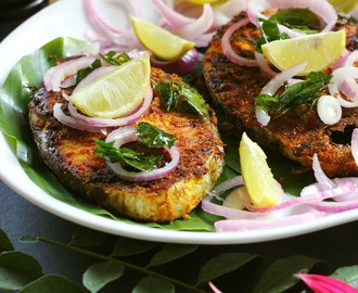 Curry Leaves Surmai/King Fish Fry - The Next Temptation