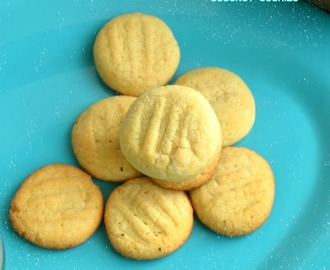 Eggless Coconut Cookies Recipe | Easy Cookie For Kids