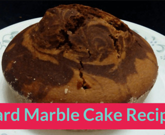 Custard Marble Cake Recipe for Kids