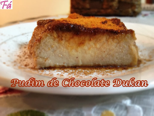 Pudim de Chocolate Dukan