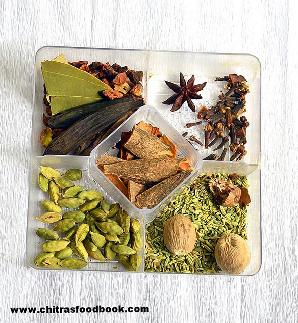 Biryani Spices List, Names, Pictures, Health Benefits
