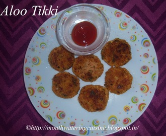 Aloo Tikki Recipe -- Aloo Tikki -- How to make Aloo Tikki