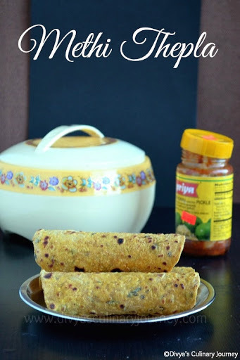 Methi Thepla Recipe - Healthy flat bread made with Fenugreek leaves