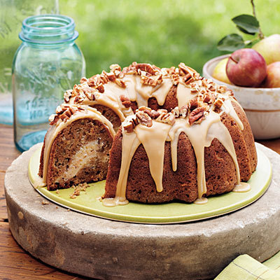 Apple Cream Cheese Bundt Cake - WTF and WOW Recipe Wednesday
