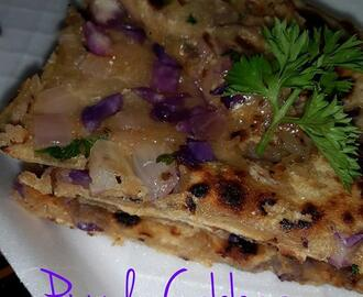 Purple Cabbage Paratha Recipe, How to make Healthy Purple Cabbage Paratha