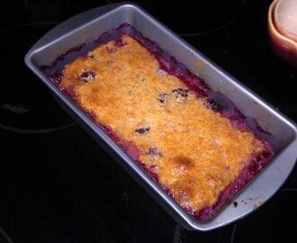 Low Carb Strawberry Cobbler