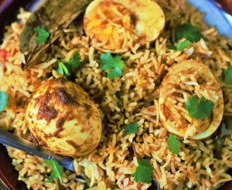 Anda Biryani Recipe-How to make egg biryani