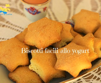 Biscotti facili allo yogurt