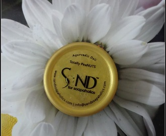 Product Review: Totally Peanuts Facial Cleanser by SaND for Soapaholics