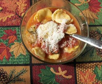 Quick and Simple Ravioli Soup