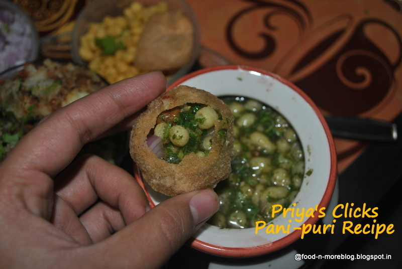 Recipe : Panipuri,how to make golgappas