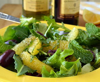 Insalata D'arancio e Limone, Orange and Lemon Salad
