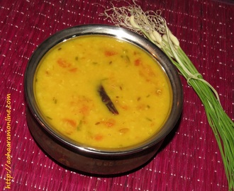 Hare Lehsun ki Dal (Lentils with Fresh Green Garlic) – Winter Special