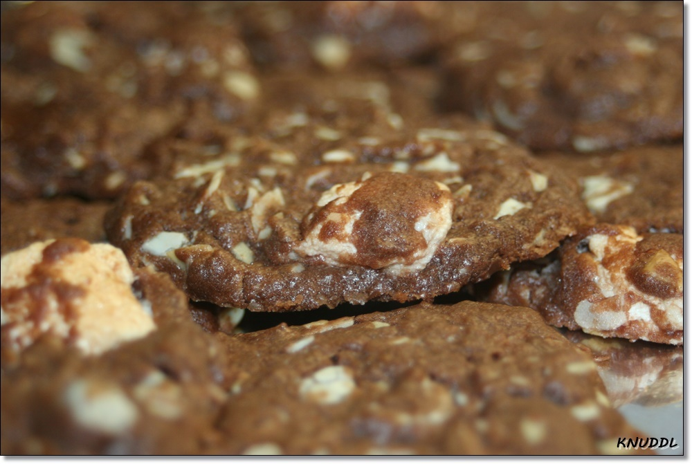 Laura backt Weihnachtsbrownies - Cookies