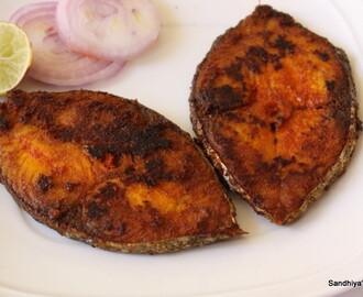 Vanchiram Meen Fry| King Fish Fry