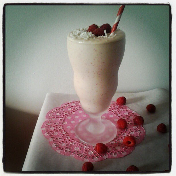 Introducing The Coconut & Raspberry Milkshake