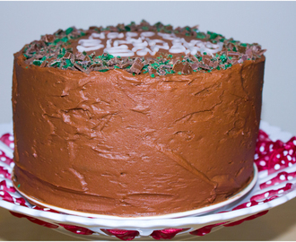 Triple Chocolate & Mint Choc Chip Layer Cake