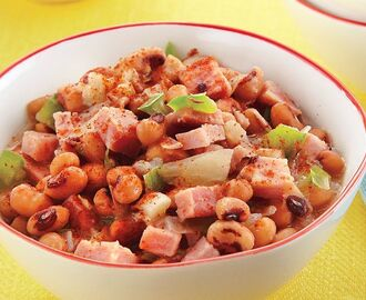 Black-Eyed Peas and Ham