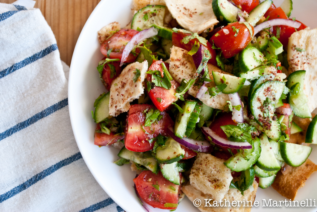 Guest Post : Katherine Martinelli featuring Fattoush