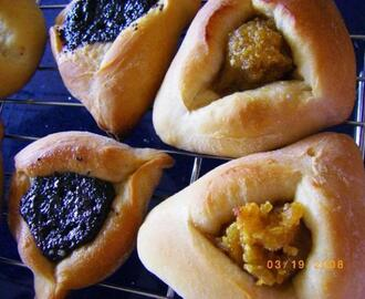 Hamentashen With Yeast Dough