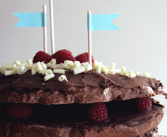 Bolo de chocolate vegan/ Vegan chocolate cake