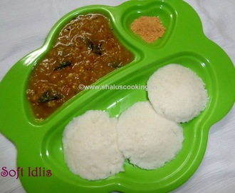 How to Make Idli - Dosa Batter and Soft Idlis