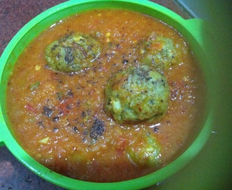 Palak Kofta Curry Recipe