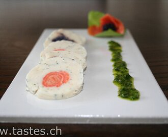 Fish Terrine with Kaviar
