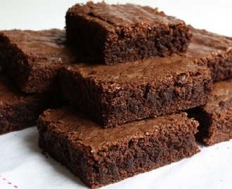 Receita de Brownie de Chocolate Light
